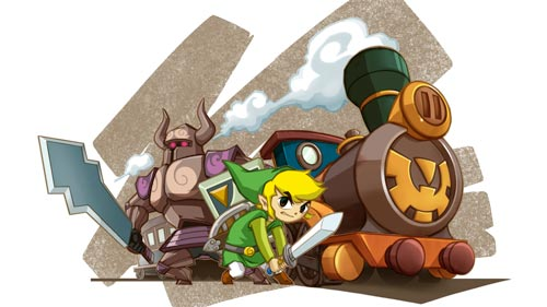 The Legend of Zelda: Spirit Tracks.
