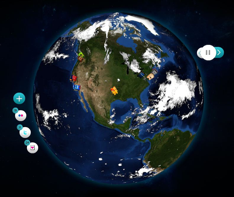 GeocoEarth: Visualiza los tweets en tiempo real en un globo ...